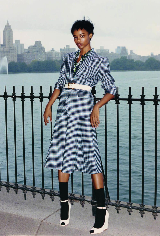 Aaliyah Hydes by Stanisław Boniecki for Vogue Poland March 2020