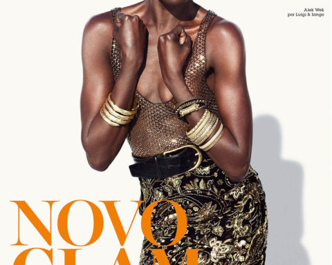 Alek Wek covers Vogue Brazil March 2020 by Luigi & Iango