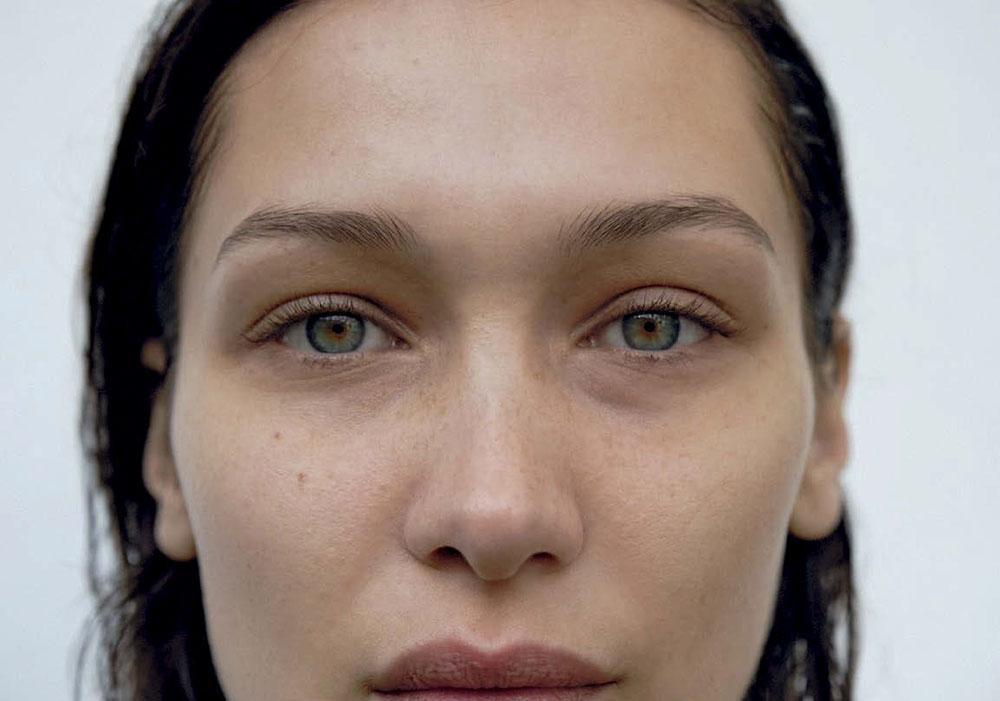 Bella Hadid by Zoë Ghertner for Vogue Italia March 2020