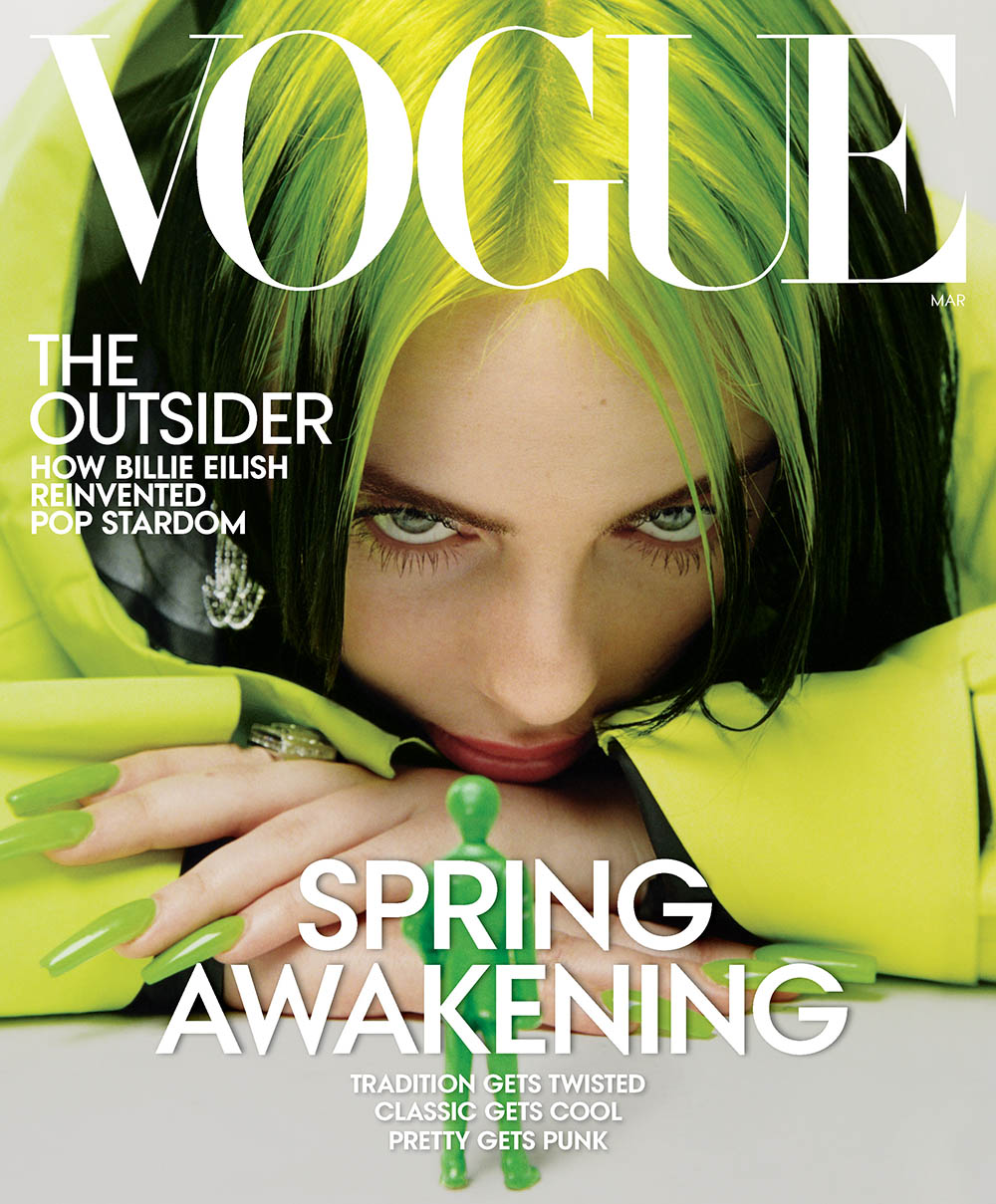 Billie Eilish covers Vogue US March 2020