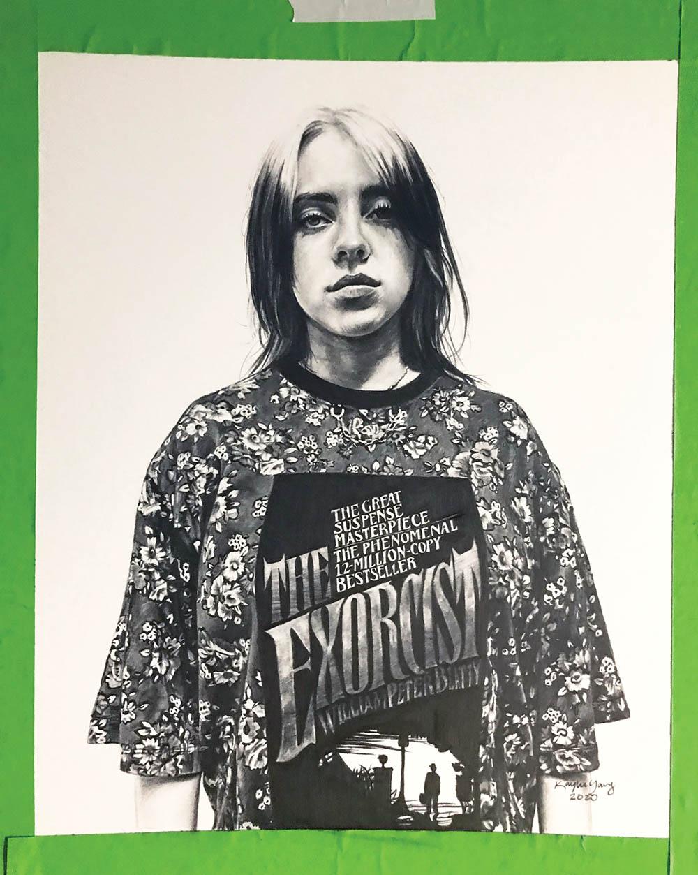 Billie Eilish covers Vogue US March 2020