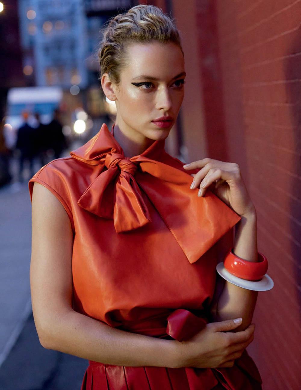 Blanca Padilla and Hannah Ferguson by Arthur Elgort for Vogue Spain March 2020