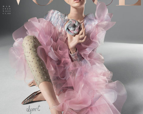 CGI model covers Vogue Italia March 2020 by Mert & Marcus