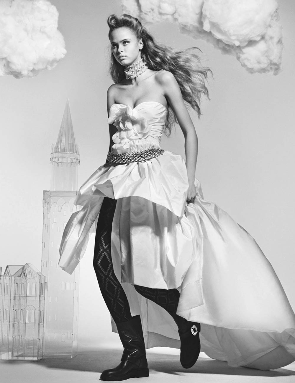 ''Castle On A Cloud'' by Craig McDean for British Vogue March 2020