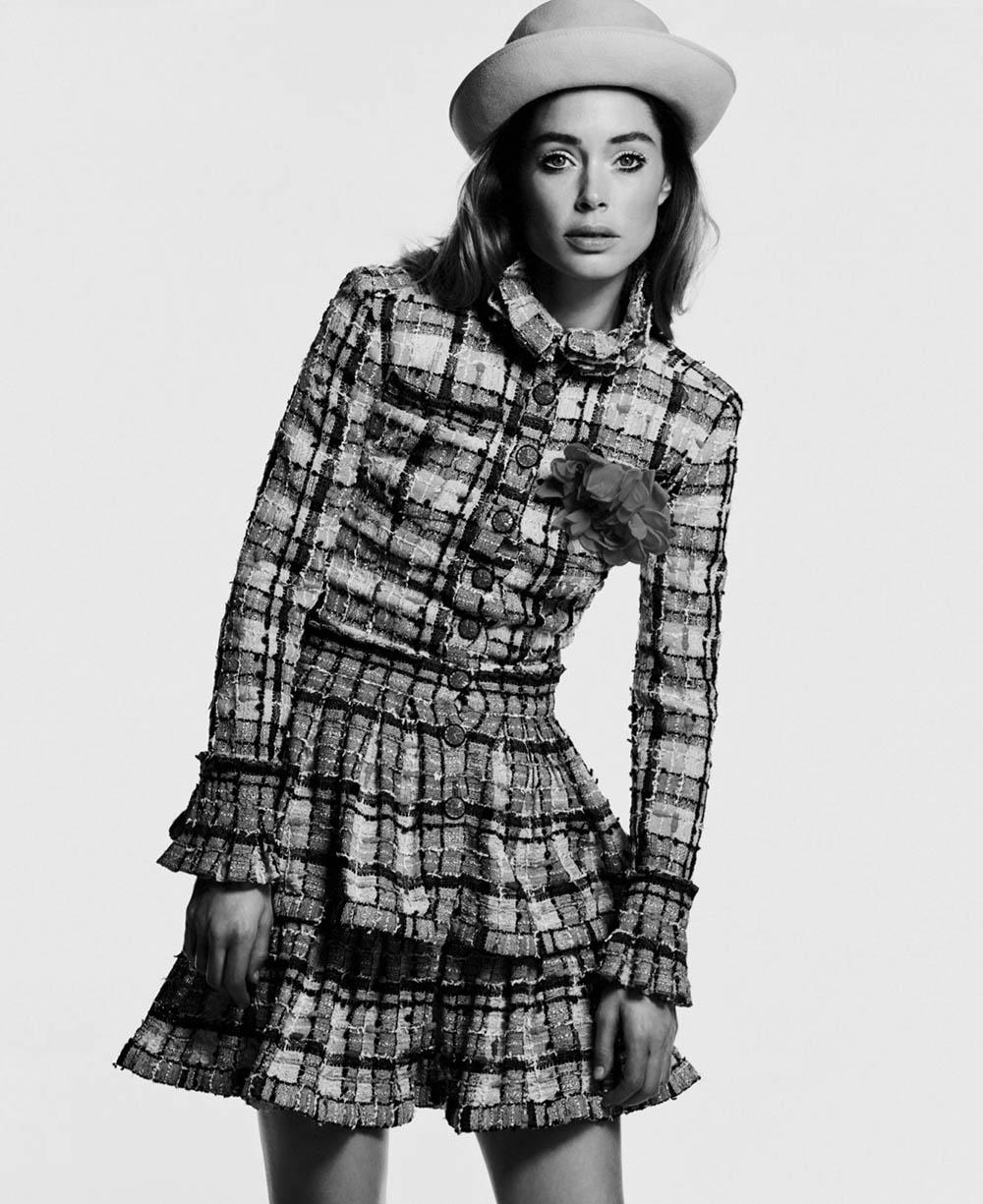 Doutzen Kroes by Chris Colls for Elle US March 2020
