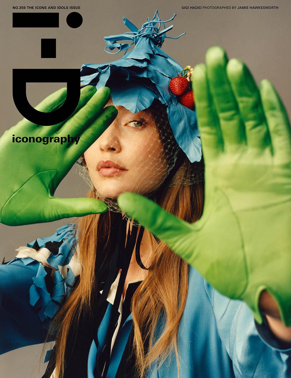 Gigi Hadid covers i-D Magazine Spring 2020 by Jamie Hawkesworth
