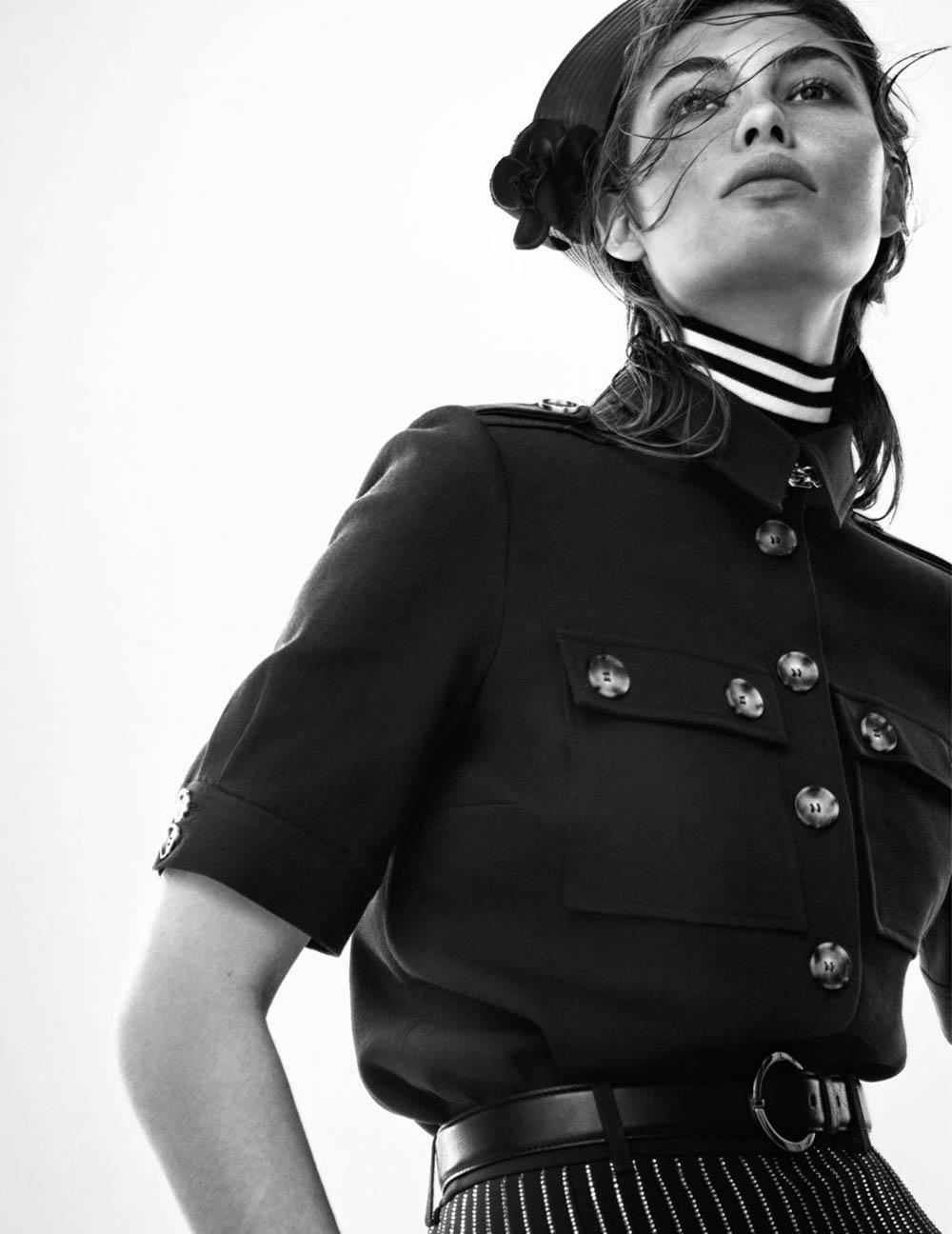 Grace Elizabeth by Christian MacDonald for Vogue Paris March 2020