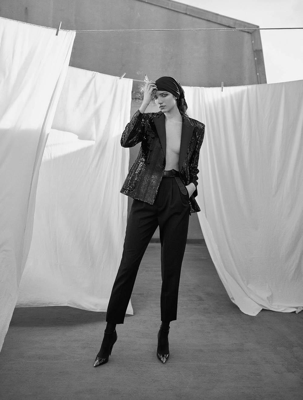 Grace Hartzel by Dominique Issermann for Numéro March 2020