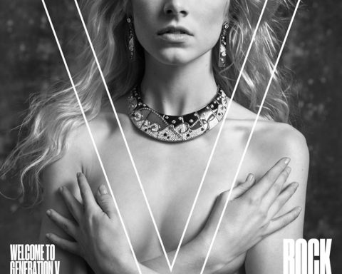 Hunter Schafer covers V Magazine Spring 2020 by Inez and Vinoodh