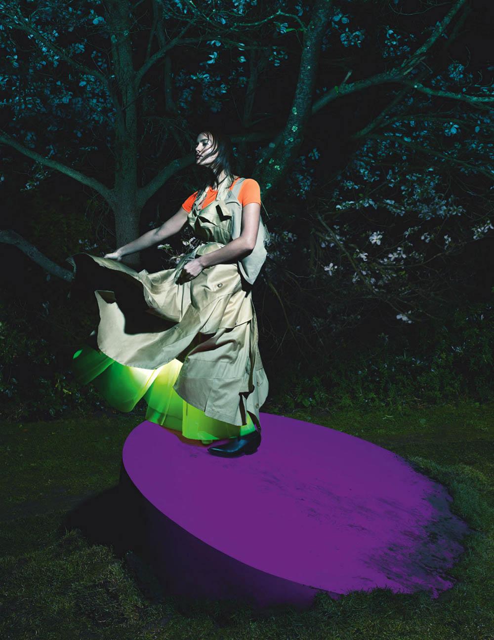 Irina Shayk covers British Vogue March 2020 by Mert & Marcus