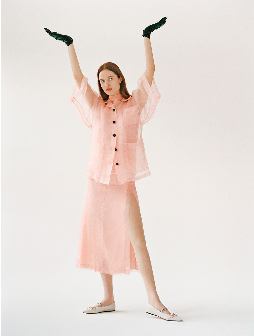 Julia Banas by Arseny Jabiev for Vogue Hong Kong March 2020