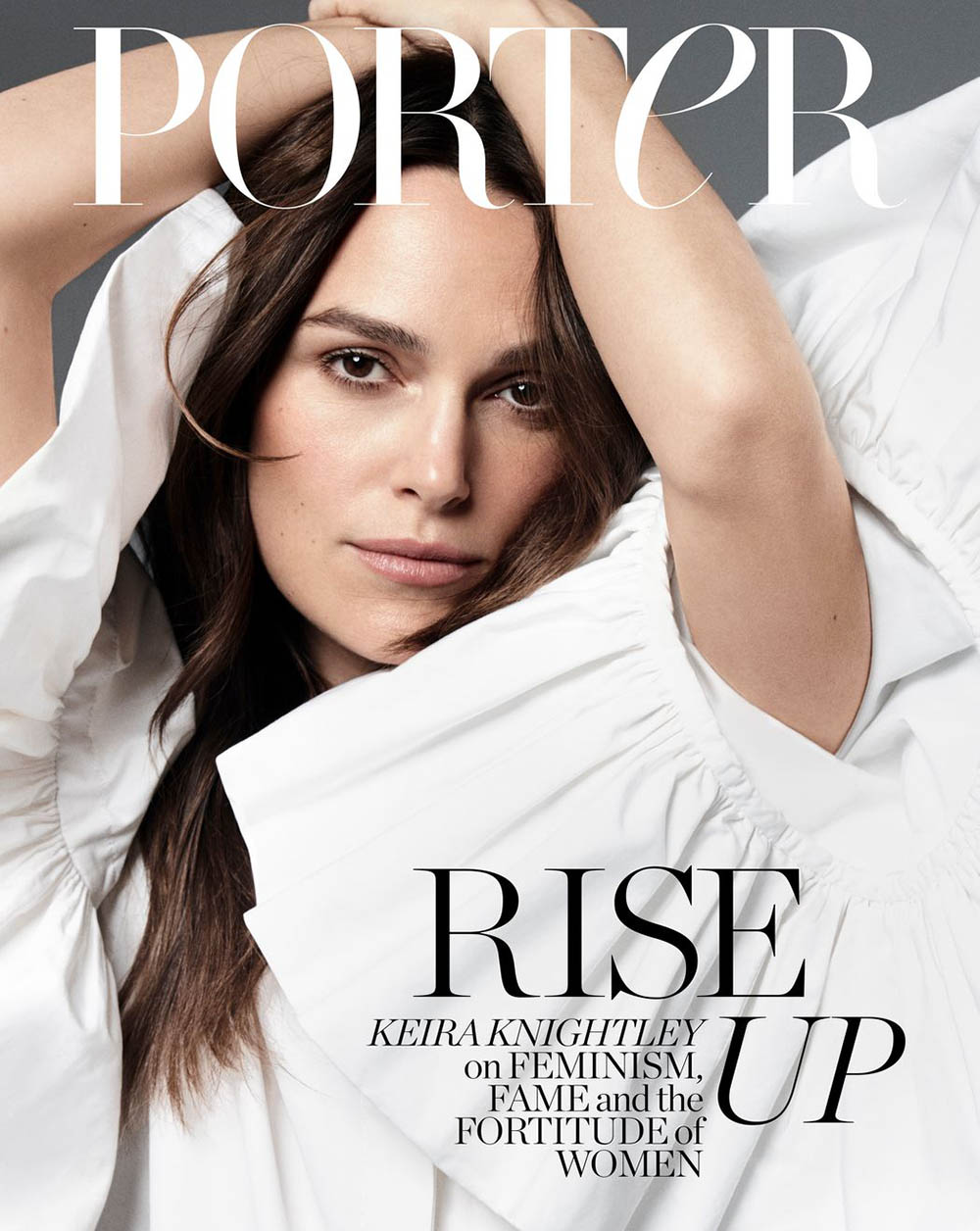Keira Knightley covers Porter Magazine March 9th, 2020 by Vanina Sorrenti
