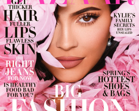 Kylie Jenner covers Harper's Bazaar US March 2020 by Morelli Brothers