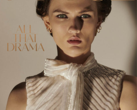 Lara Mullen covers Vogue Ukraine March 2020 by Bruno Staub
