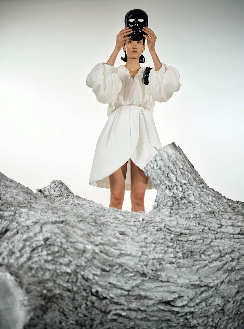 Lina Zhang by Kacper Kasprzyk for Numéro March 2020