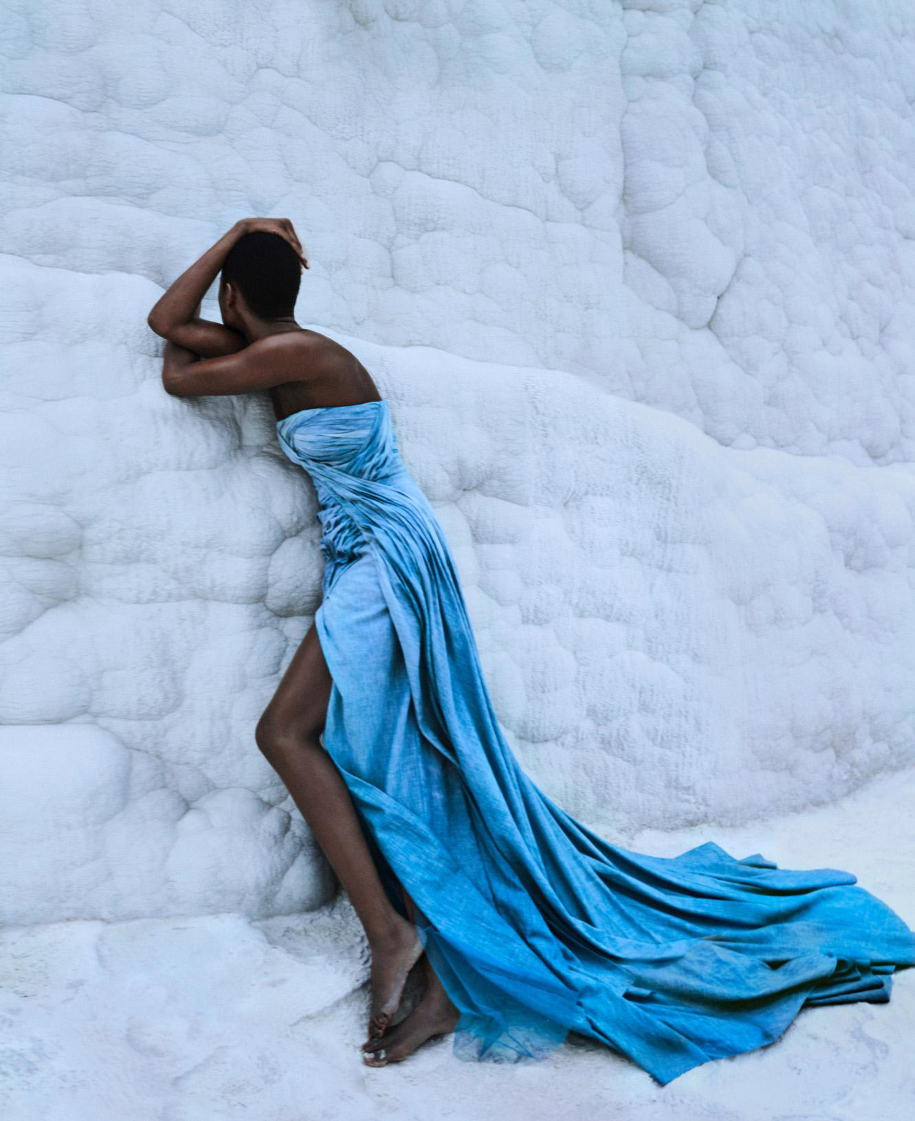 Mayowa Nicholas by Txema Yeste for Harper's Bazaar US March 2020