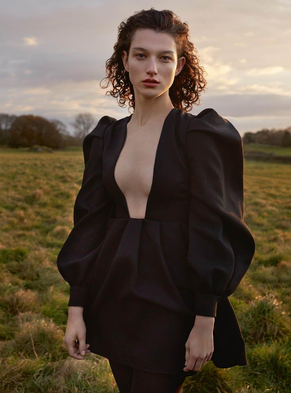 McKenna Hellam by Agata Pospieszynska for Harper's Bazaar UK March 2020