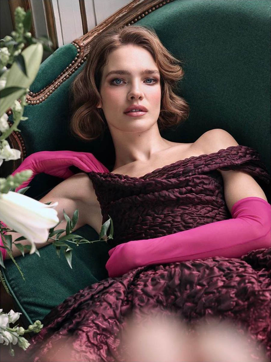Natalia Vodianova covers Tatler UK March 2020 by Victor Demarchelier