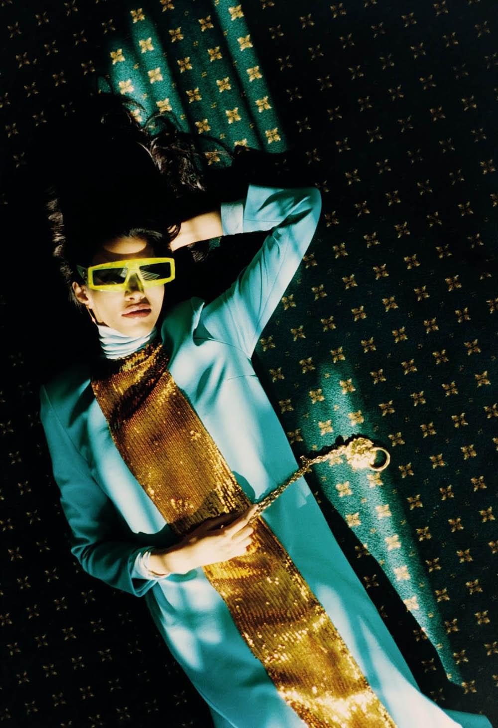 Pooja Mor covers ES Magazine March 20th, 2020 by Tom Craig