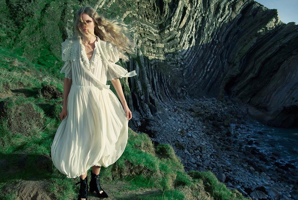 Rebekka Eriksen by Erik Madigan Heck for Harper's Bazaar UK March 2020