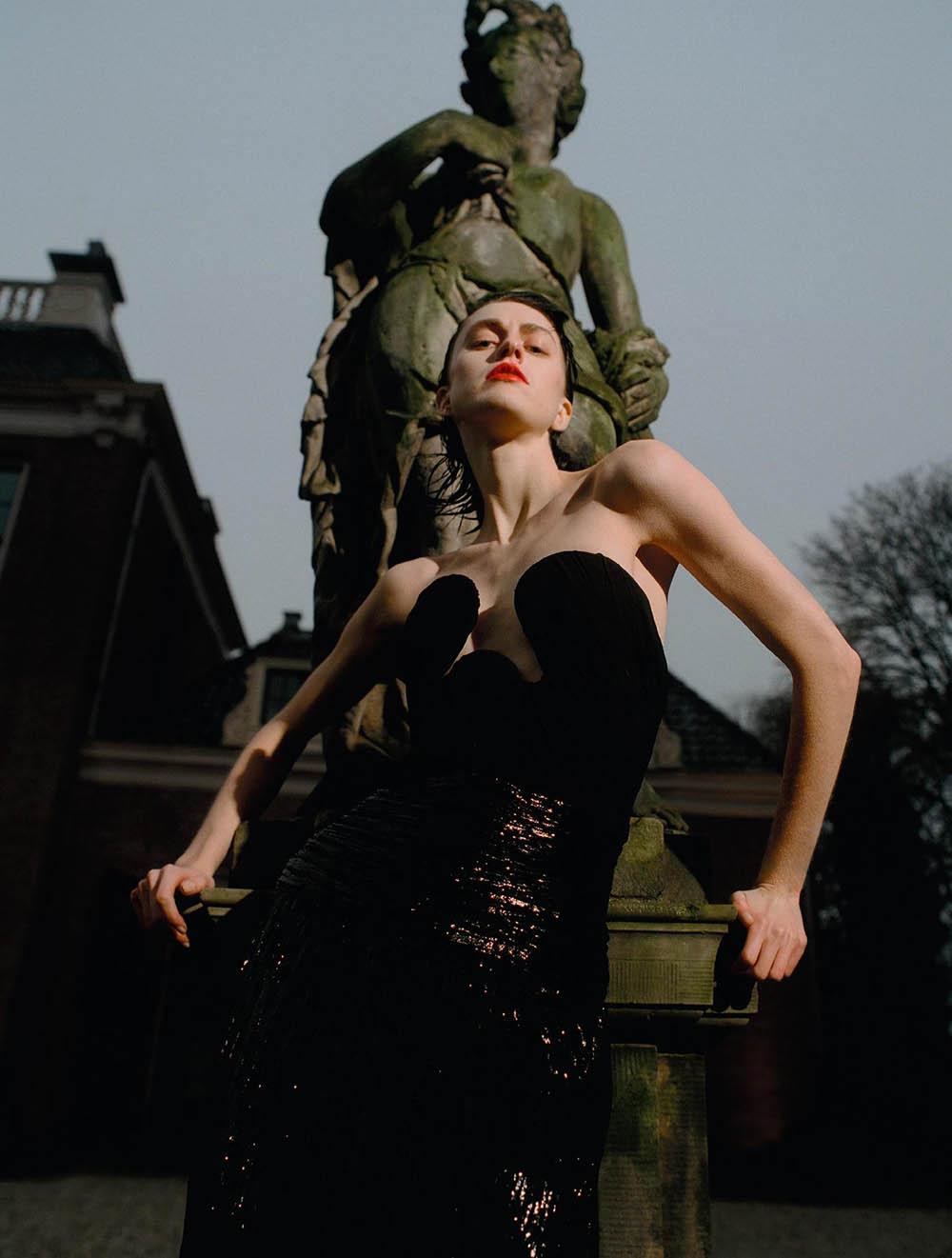 Sarah Brannon by Walter Pierre for Numéro March 2020