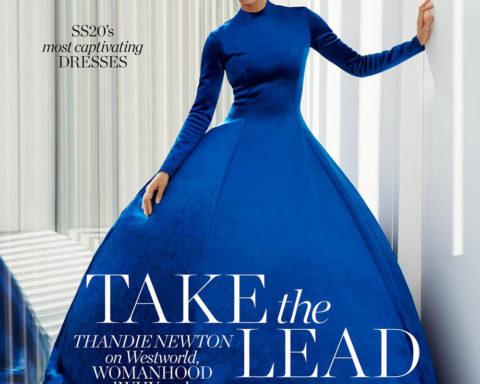 Thandie Newton covers Porter Magazine March 16th, 2020 by Liz Collins