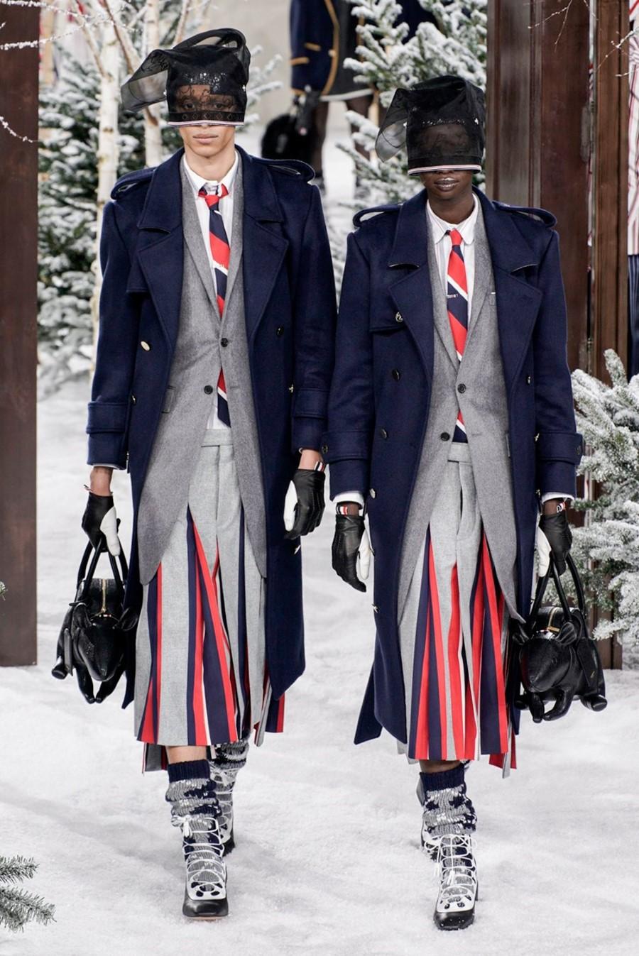 Thom Browne - Fall Winter 2020 - Paris Fashion Week
