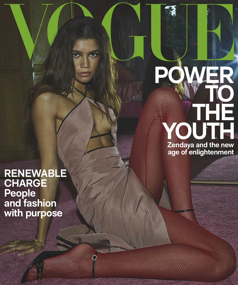 Zendaya covers Vogue Australia March 2020 by Daniel Jackson