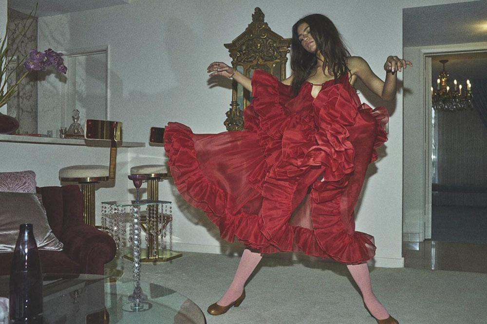 Zendaya covers Vogue Australia March 2020 by Daniel Jackson