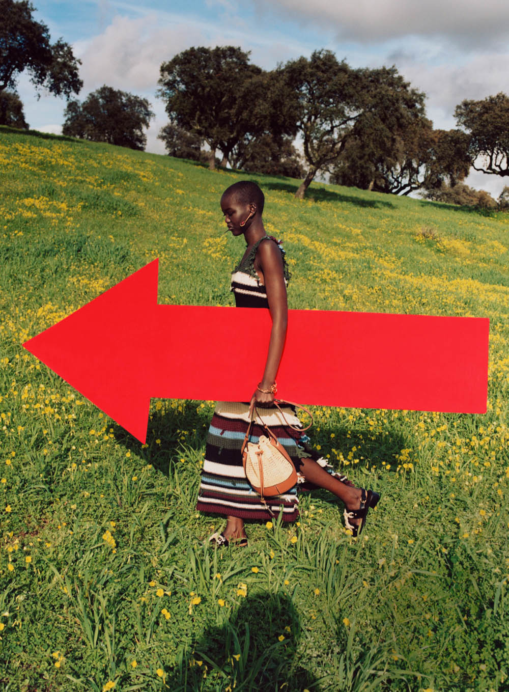 Adut Akech and Abby Champion by Angelo Pennetta for Vogue US April 2020