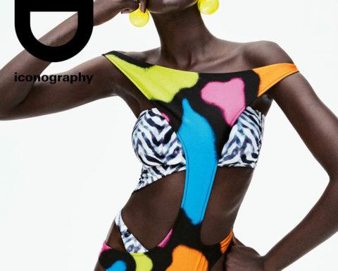 Adut Akech covers i-D Magazine Spring 2020 by Daniel Jackson