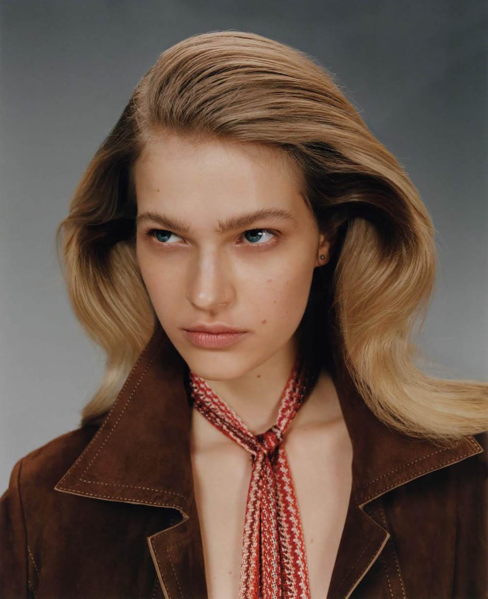Aivita Mūze by Marcin Kempski for Vogue Poland April 2020