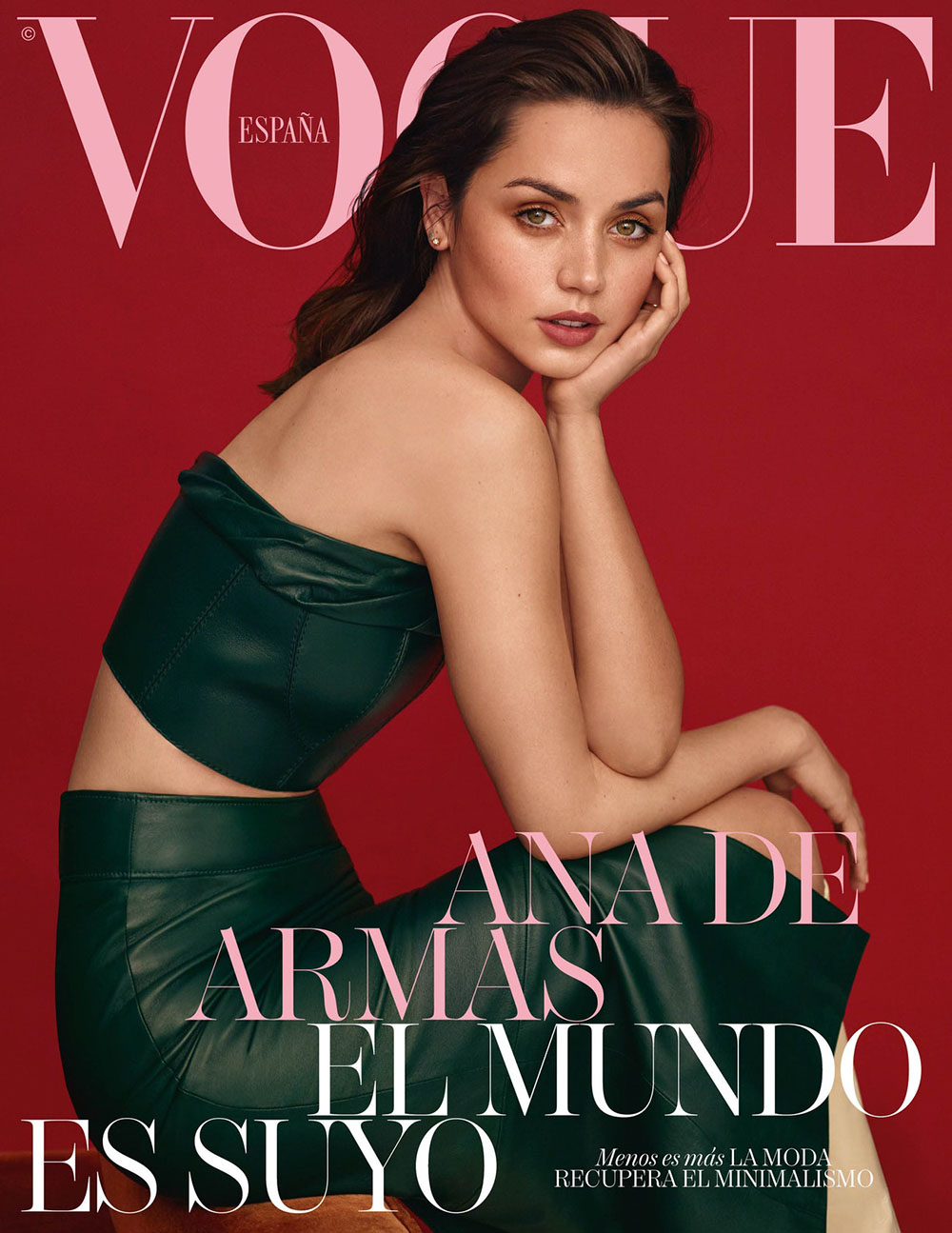 Ana de Armas covers Vogue Spain April 2020 by Thomas Whiteside