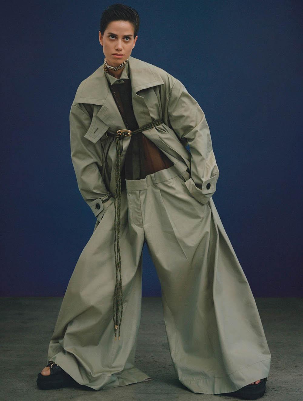 Anna Herrera by Arseny Jabiev for Vogue Hong Kong April 2020