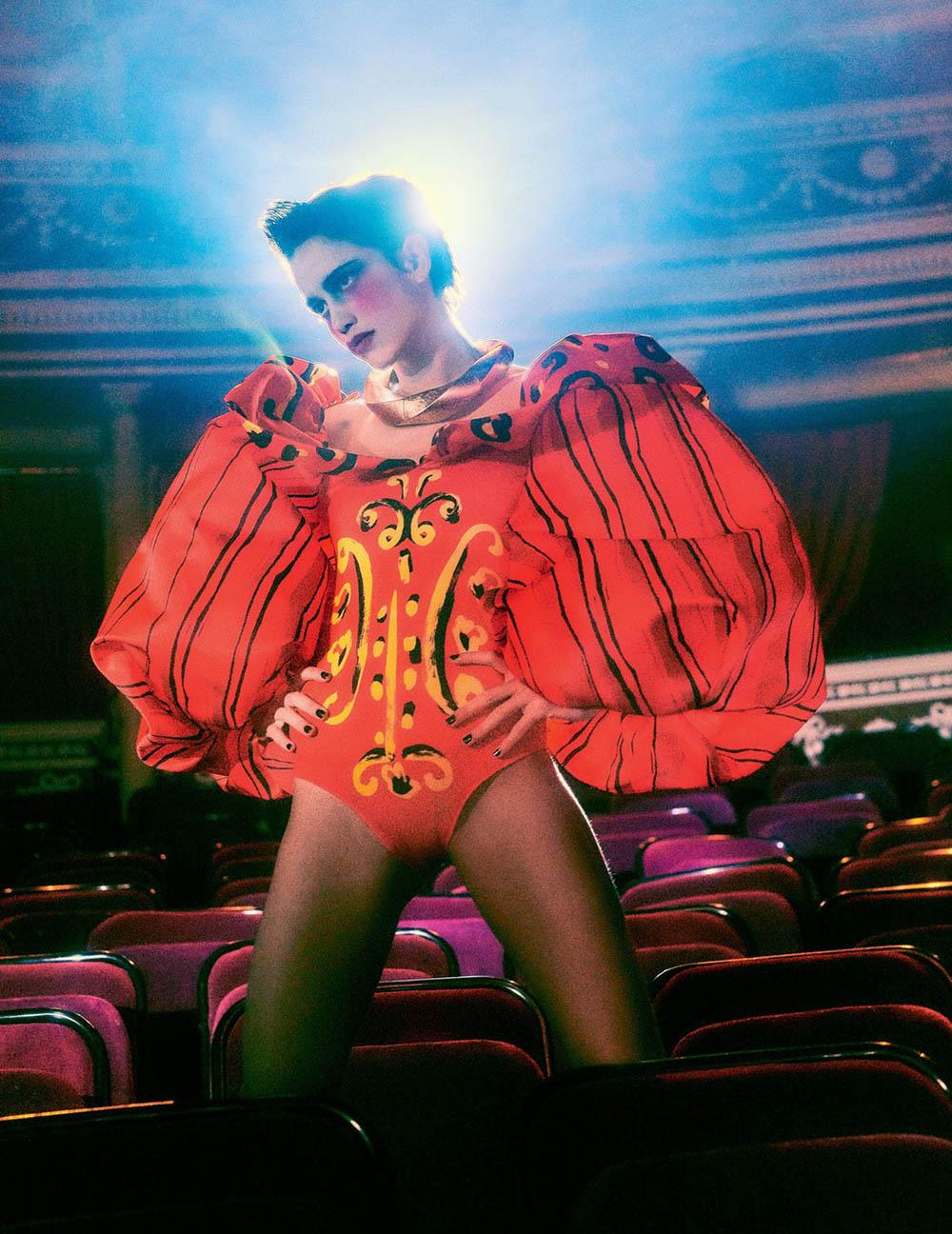 Anna Herrera by Elizaveta Porodina for Vogue Russia April 2020
