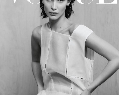 Bella Hadid covers Vogue Greece April 2020 by Chris Colls