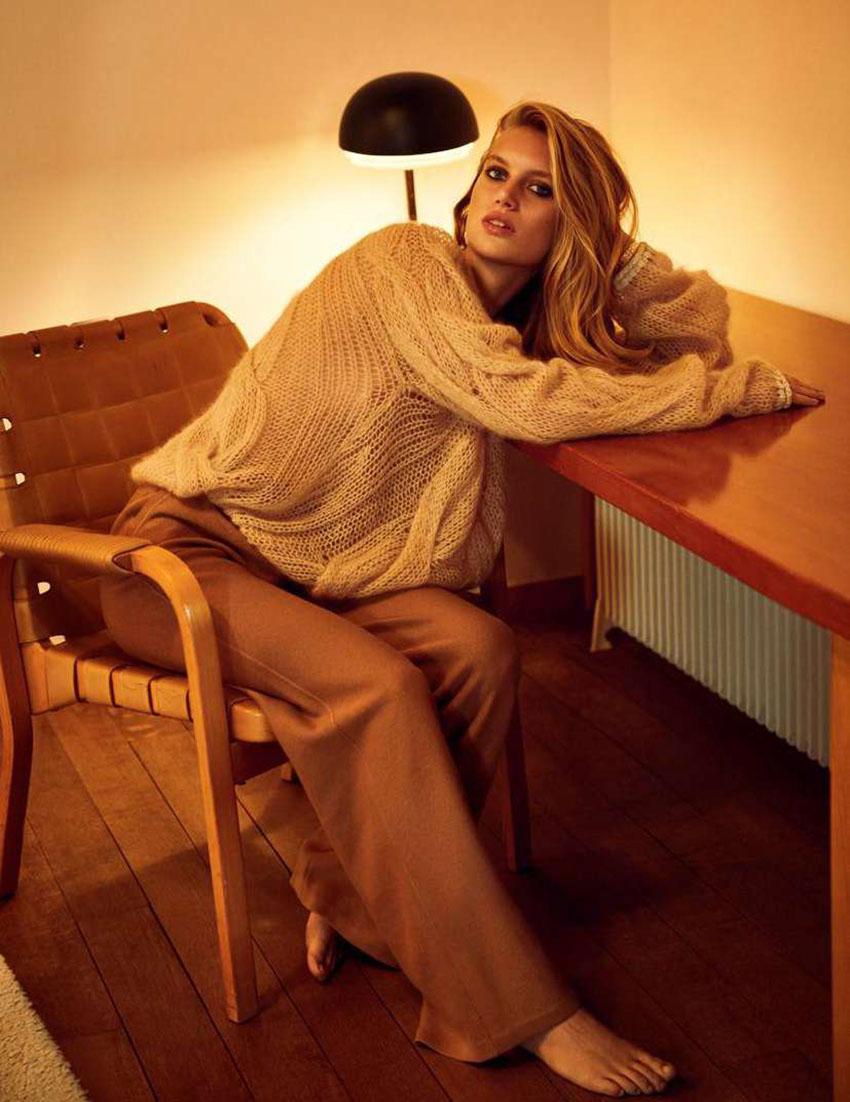 Bess van Noord covers Madame Figaro April 10th, 2020 by Thiemo Sander