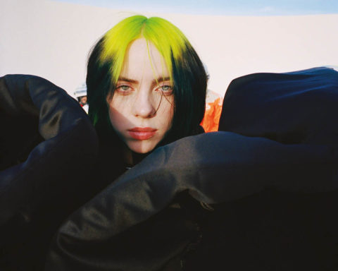 Billie Eilish covers Dazed Magazine Spring Summer 2020 by Harmony Korine