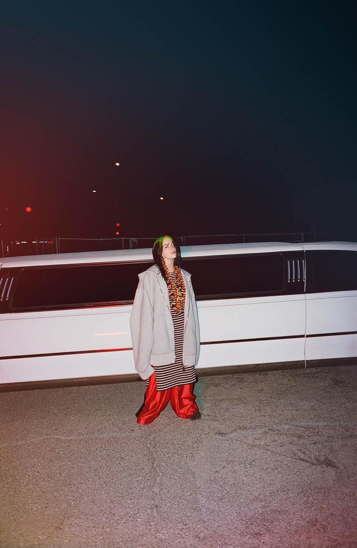 Billie Eilish covers Dazed Magazine Spring Summer 2020 by Harmony Korine