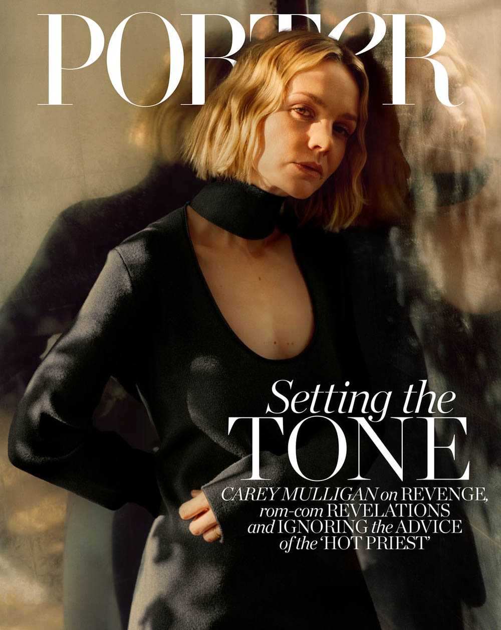 Carey Mulligan covers Porter Magazine April 6th, 2020 by Rory Payne