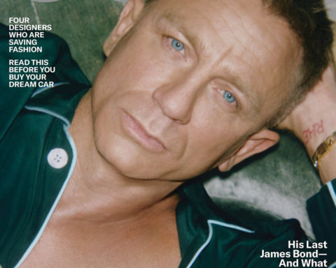 Daniel Craig covers GQ USA April 2020 by Lachlan Bailey