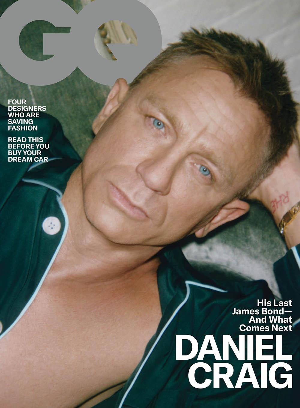 Daniel Craig covers GQ USA April 2020 by Lachlan Bailey