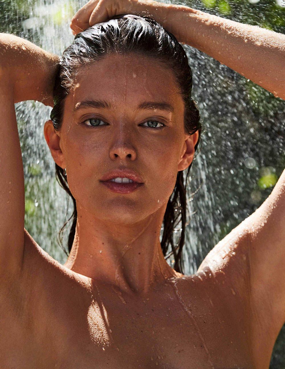 Emily DiDonato covers Madame Figaro April 3rd, 2020 by David Roemer