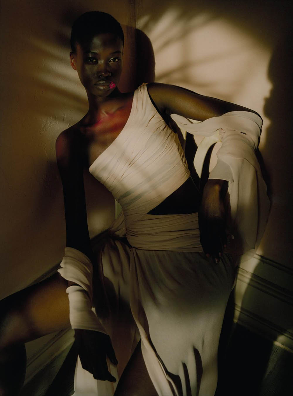 Fatou Jobe by Rory Payne for Numéro April 2020