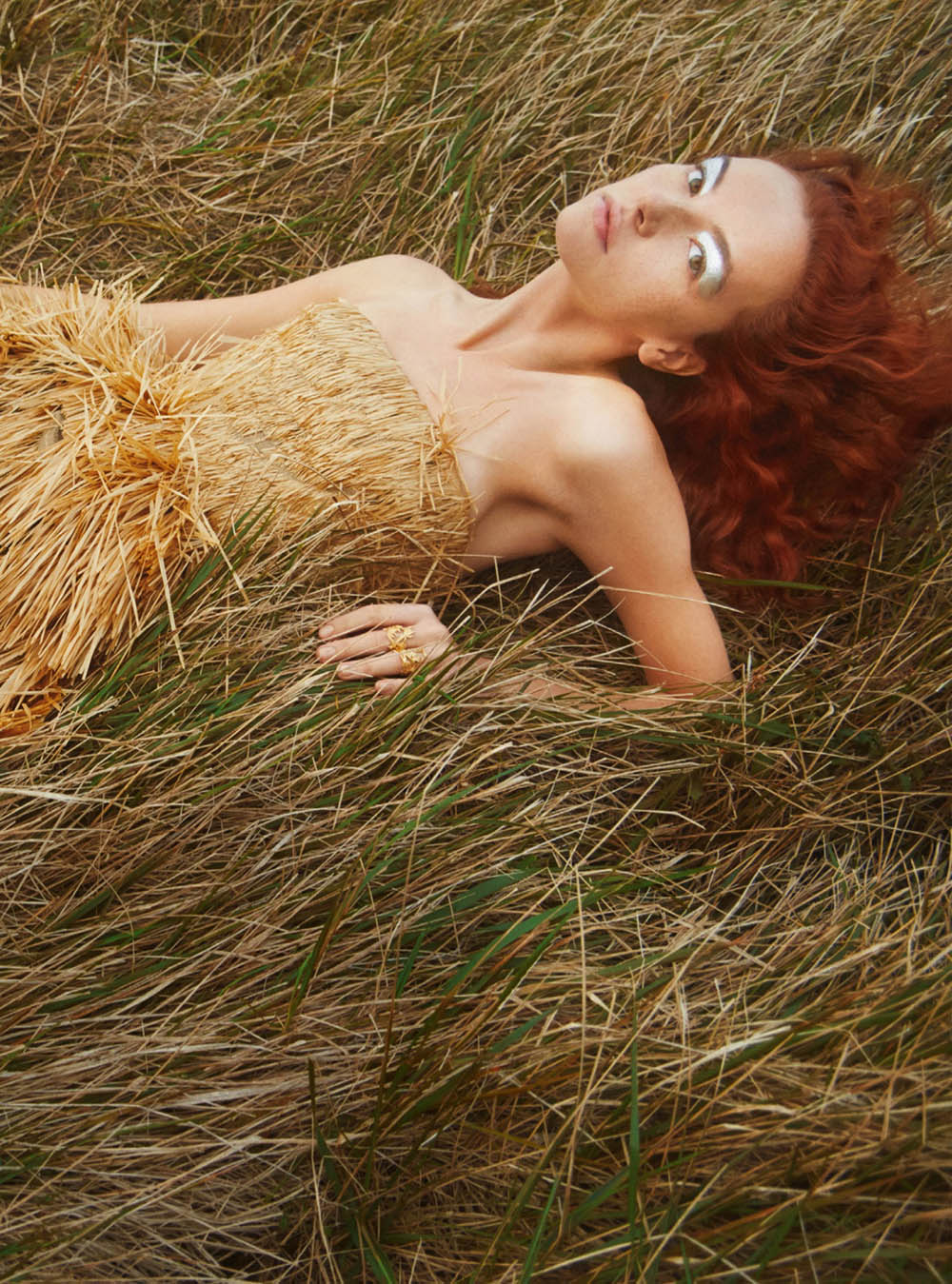 Greta Valeria by Erik Madigan Heck for Harper's Bazaar UK April 2020
