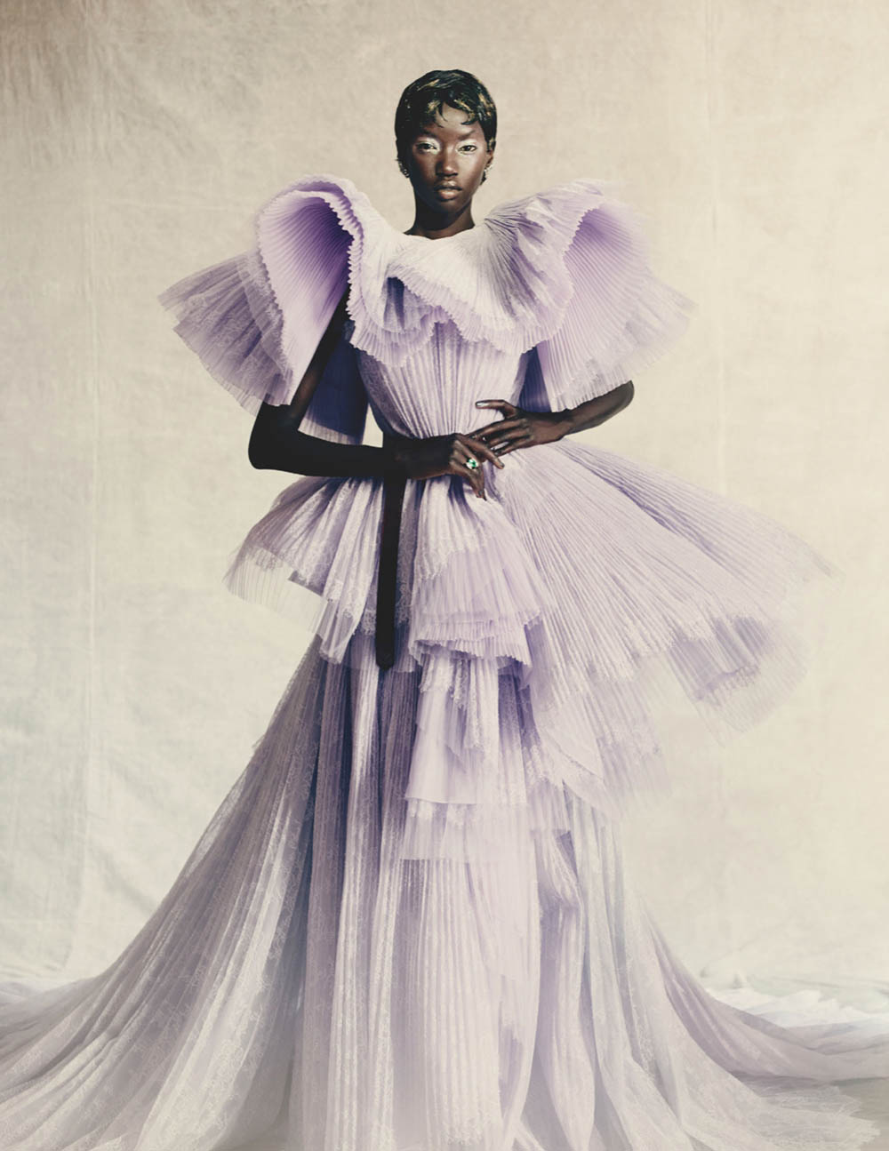 ''High Drama'' by Paolo Roversi for British Vogue April 2020