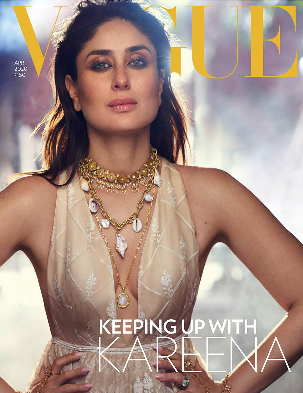 Kareena Kapoor Khan covers Vogue India April 2020 by Tarun Vishwa