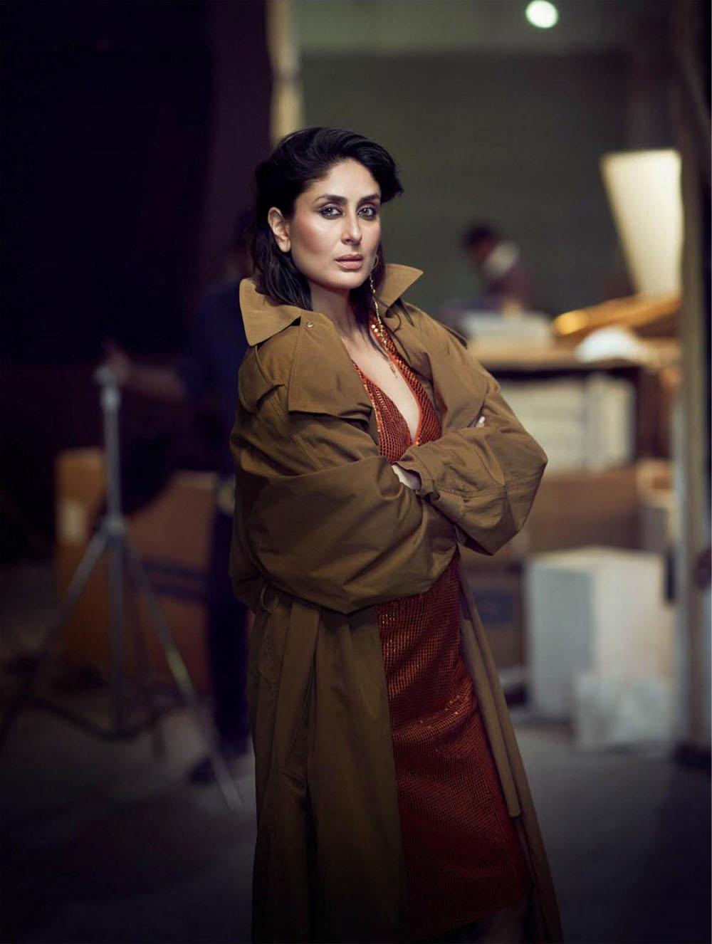 Kareena Kapoor Khan covers Vogue India April 2020 by Tarun Vishwa