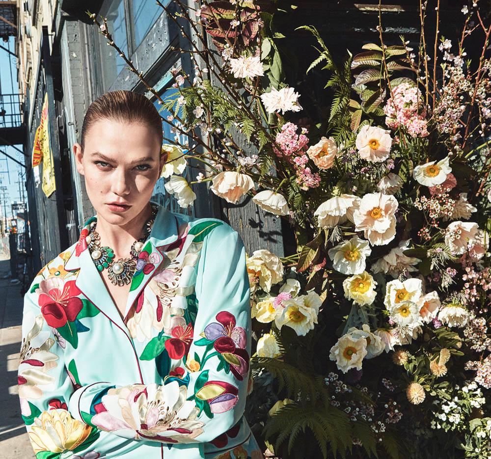 Karlie Kloss by Daniel Jackson for Vogue US April 2020