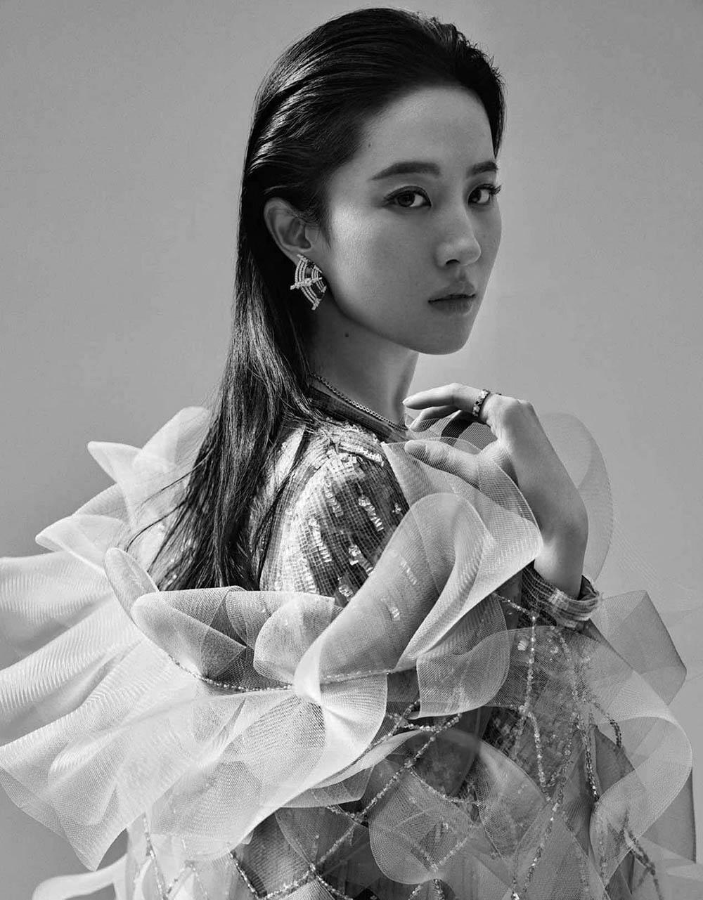 Liu Yifei covers Vogue China April 2020 by Kai Z Feng